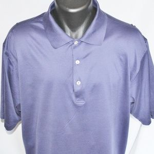 Peter Millar Shirts - Peter Millar Crown 100% Cotton Golf Polo, XL NICE